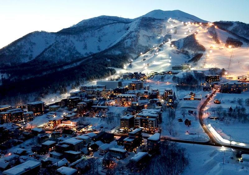 Нисеко, Япония - горнолыжный курорт