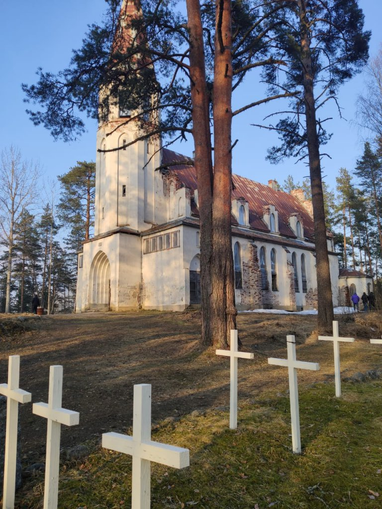 Лютеранская церковь Лумиваара